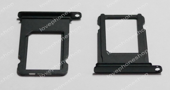 ถาดใส่ซิม Sim Card Tray Original Genuine สำหรับ iPhone 7Plus  สีดำเงา  jet black (ส่งฟรี)