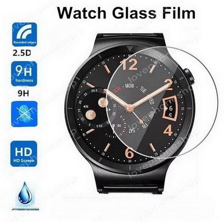 แผ่น ฟิลม์แก้วกันรอย GLASS กลม 35mm. Screen Protector for Smart Watch ส่งฟรี!!!