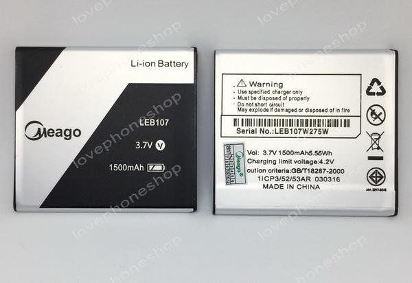 แบตเตอรี่ Meago สำหรับ Ais LAVA 4.0 iris 550,iris 560 / LEB107 (ส่งฟรี)