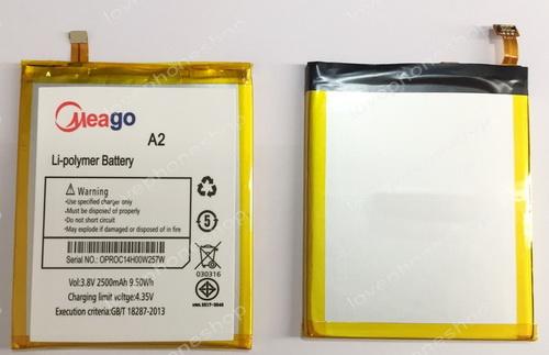 แบตเตอรี่ Meago สำหรับ Ais LAVA A2 - 4G 5.2 นิ้ว  (ส่งฟรี)