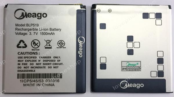 แบตเตอรี่ มอก. Meago สำหรับ Oppo Find Gemini U7011 / Oppo Find Piano R8113 รหัส BLP519 (ส่งฟรี)