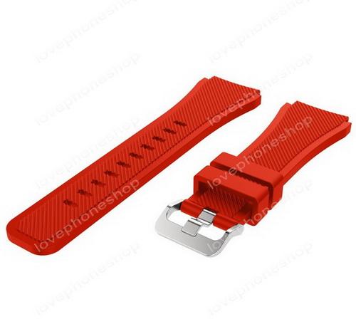 สายนาฬิกา Samsung Gear S3  (SM-R760,SM-R770) สีแดง  ส่งฟรี!!