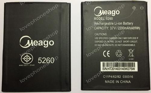 แบตเตอรี่ Meago สำหรับ Wiko รุ่น Pulp Fab 5260 (ส่งฟรี)