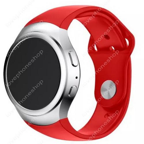 สายนาฬิกา Samsung Gear S2  (SM-R720) สีแดง ตัวปรับสายแบบSports ส่งฟรี!!