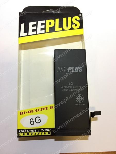 Leeplus แบตเตอรี่ iPhone 6 แบตเตอรรี่คุณภาพดี ผ่านมาตรฐาน มอก. (ส่งฟรี)