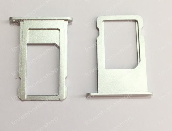 ถาดใส่ซิม Sim Card Tray Original Genuine สำหรับ iPhone 6S สีเงิน (ส่งฟรี)