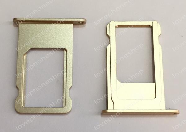 ถาดใส่ซิม Sim Card Tray Original Genuine สำหรับ iPhone 6S สีชมพู (ส่งฟรี)