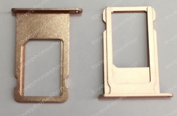 ถาดใส่ซิม Sim Card Tray Original Genuine สำหรับ iPhone 6S สีทอง (ส่งฟรี)