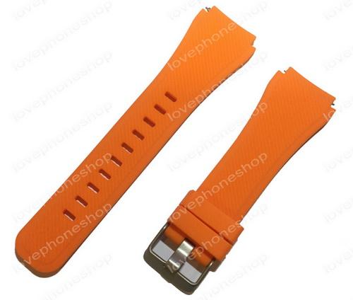 สายนาฬิกา Samsung Gear S3  (SM-R760,SM-R770) สีส้ม  ส่งฟรี!!