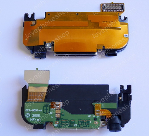 ชุดแพรลำโพงกระดิ่ง ตูดชาร์ต ไมล เสาอากาศ  iPhone 3G