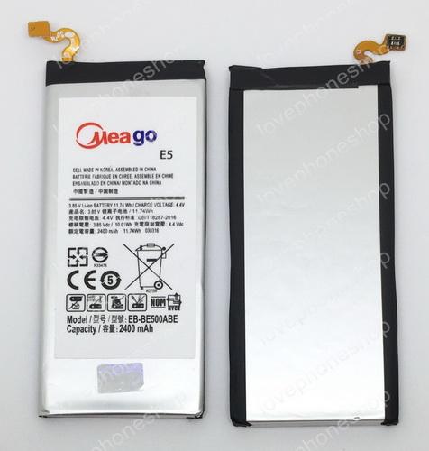 แบตเตอรี่ มอก. Meago สำหรับ Samsung Galaxy E5 - BE500ABE  (ส่งฟรี)
