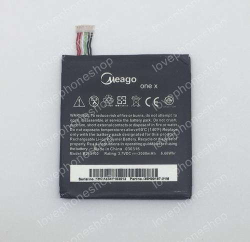 แบตเตอรี่ มอก. Meago สำหรับ HTC One X (G23,s720e ,One S,Z520e) รหัส BJ83100  ส่งฟรี!!