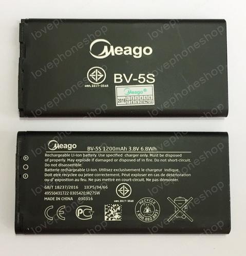แบตเตอรี่ มอก. Meago สำหรับ Nokia X2 รหัส BV-5s (ส่งฟรี)