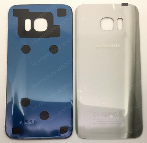 ฝาหลัง Samsung Galaxy S7 Edge (G935) สีเงิน (Original Genuine Part) ส่งฟรี!