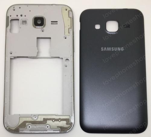 ชุดเคสกลางและฝาหลัง Samsung Galaxy Core Prime (G360) 1sim สีดำ (Original Genuine Part) ส่งฟรี!