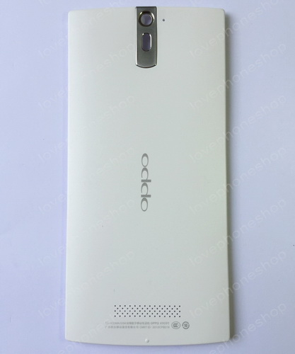 ฝาหลัง OPPO Find 5 (X909) สีขาว (Original Genuine Part) ส่งฟรี!