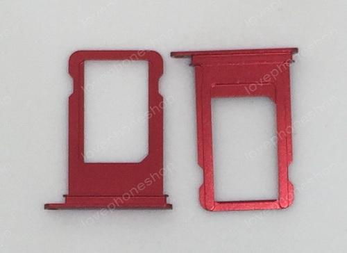 ถาดใส่ซิม Sim Card Tray Original Genuine สำหรับ iPhone 7 สีแดง (ส่งฟรี)