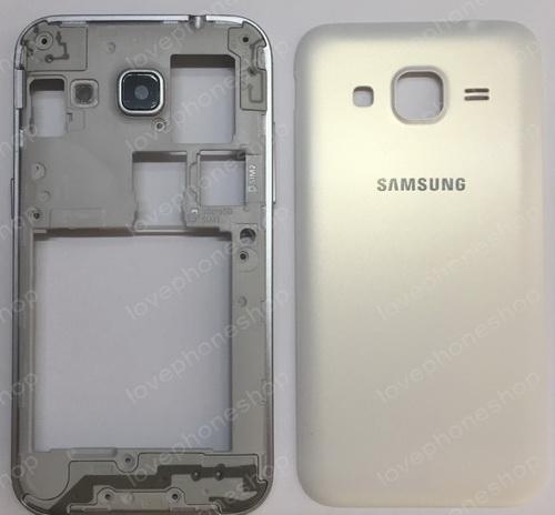 ชุดเคสกลางและฝาหลัง Samsung Galaxy Core Prime (G360) 2sim สีขาว (Original Genuine Part) ส่งฟรี!