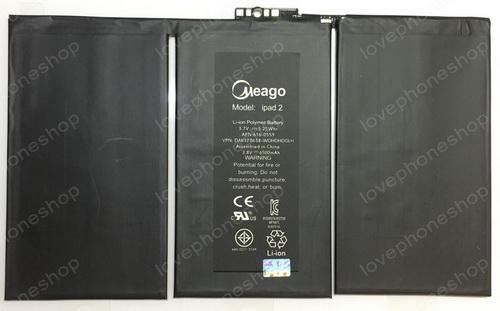 แบตเตอรี่ มอก. Meago สำหรับ iPad2 รหัส A1376 (ส่งฟรี)