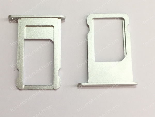 ถาดใส่ซิม Sim Card Tray Original Genuine สำหรับ iPhone 6Plus สีเงิน (ส่งฟรี)