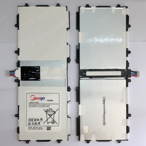 แบตเตอรี่ มอก. Meago - Samsung GALAXY TAB3 10.1 GT-P5200 6800mAh - T4500 (ส่งฟรี)