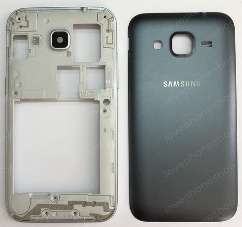 ชุดเคสกลางและฝาหลัง Samsung Galaxy Core Prime (G360) 2sim สีดำ (Original Genuine Part) ส่งฟรี!