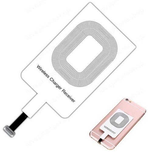 แผ่นรับสัญญาณ ชาร์จแบบไร้สาย WIRELESS CHARGING RECEIVER iPhone 5/5S/6/6S/6Plus/6Splus/7 (ส่งฟรี)