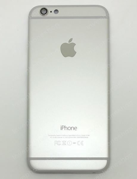 ชุดฝาหลัง (back housing) iPhone 6 สีขาว (ส่งฟรี)