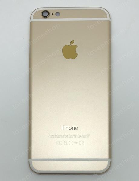 ชุดฝาหลัง (back housing) iPhone 6 สีทอง (ส่งฟรี)