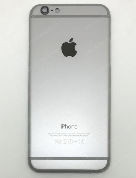 ชุดฝาหลัง (back housing) iPhone 6 สีเทาดำ (ส่งฟรี)