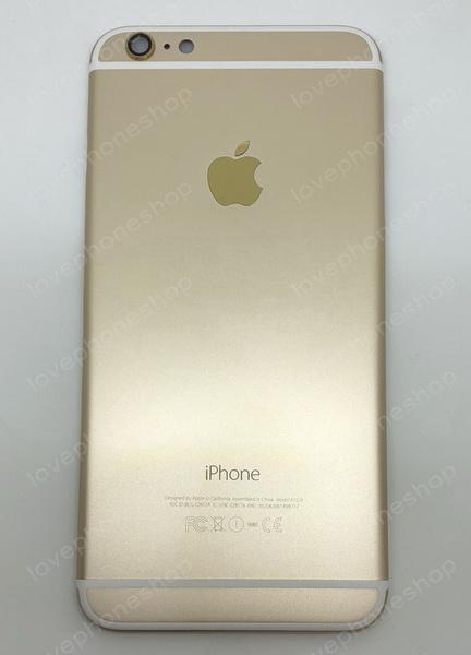 ชุดฝาหลัง (back housing) iPhone 6 plus สีทอง (ส่งฟรี)
