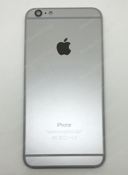 ชุดฝาหลัง (back housing) iPhone 6 plus สีเทาดำ (ส่งฟรี)