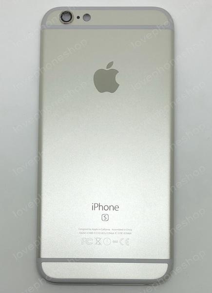 ชุดฝาหลัง (back housing) iPhone 6S สีขาว (ส่งฟรี)