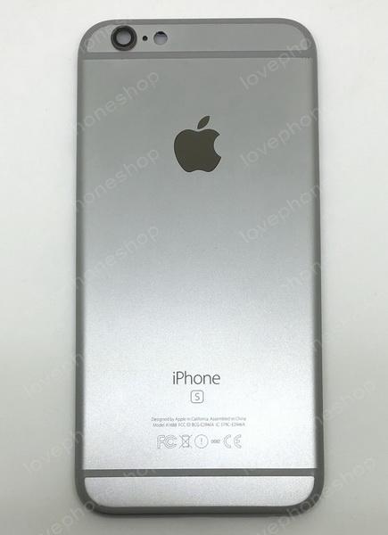ชุดฝาหลัง (back housing) iPhone 6S สีเทาดำ (ส่งฟรี)