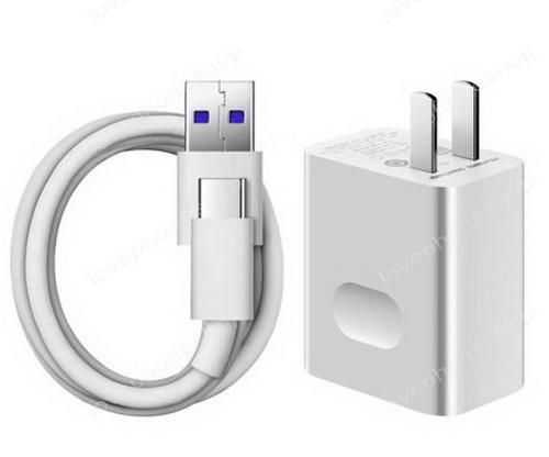 หัวชาร์จแบบเร่งด่วนและสายชาร์จ แท้ HUAWEI SuperCharge (Adapter+Type C DataCable QuickCharge) ส่งฟรี!