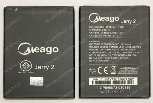 แบตเตอรี่ Meago สำหรับ Wiko รุ่น Jerry2,Lenny4 (ส่งฟรี)