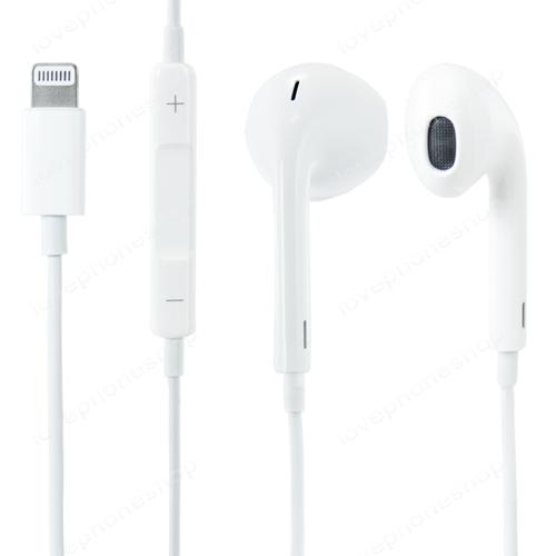 หูฟัง iphone 12, 7,7 Plus ,8,8Plus , X ของแท้!! (Apple EarPods with Lightning Connector) ส่งฟรี!!