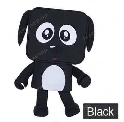 ลำโพงบูลทูธ หมาเต้นได้ Dancing Buletooth speaker dog สีดำ (ส่งฟรี)