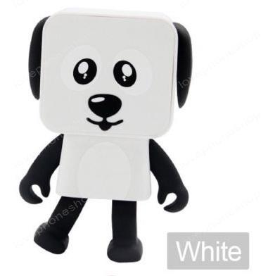 ลำโพงบูลทูธ หมาเต้นได้ Dancing Buletooth speaker dog สีขาว (ส่งฟรี)