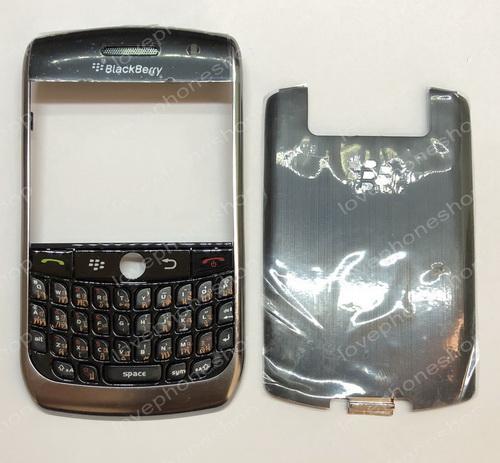 ชุดบอดี้ หน้า หลัง ปุ่มกด Blackberry 8900 สีดำ Original Part Sale!! (ส่งฟรี)