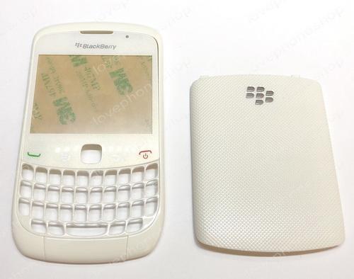 ชุดบอดี้ หน้า หลัง Blackberry 8520 ,9300 สีขาว Original Part Sale!! (ส่งฟรี)