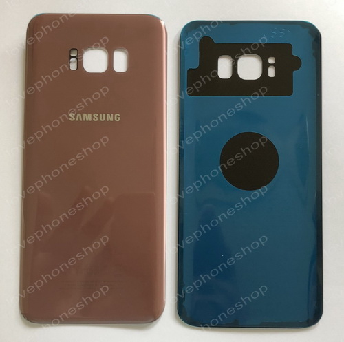 ฝาหลัง Samsung Galaxy S8 Plus (G955) สีชมพู (Original Genuine Part) ส่งฟรี!