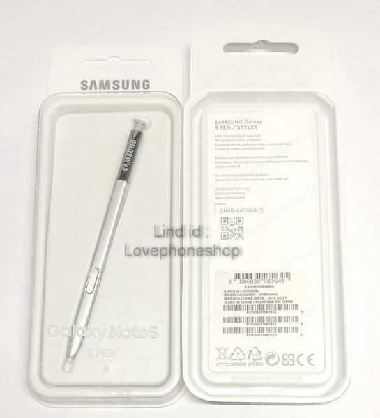 ปากกา ของแท้!! S Pen Galaxy Note 5 สีเงิน [ส่งฟรี]