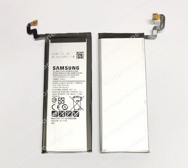 แบตเตอรี่ แท้ Samsung Galaxy Note5 (N920) - EB-BN920ABE/3000mAh (ส่งฟรี)