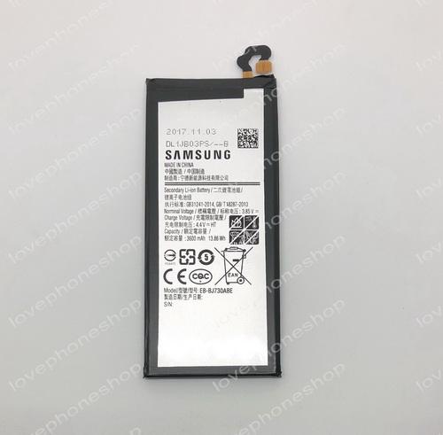 แบตเตอรี่ แท้ Samsung Galaxy J7 Pro - EB-BJ730ABE/3600mAh (ส่งฟรี)