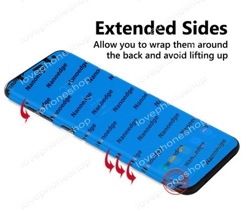 ฟิลม์กันรอย iPhone XSmax (5D Full Screen Coverage Nano Edge TPU Screen Protector) ส่งฟรี!!!