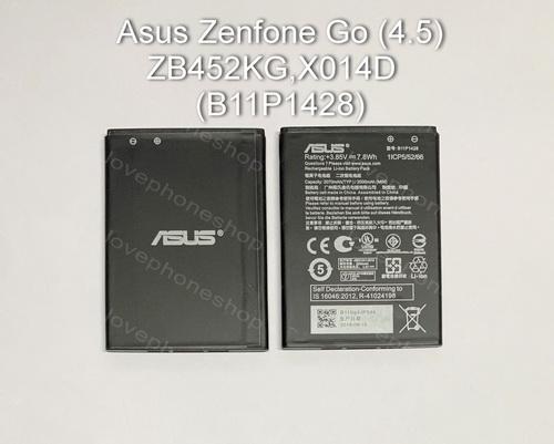 แบตเตอรี่ (Original) Asus Zenfone Go (4.5) ZB452KG,X014D รหัส B11P1428 ส่งฟรี!!