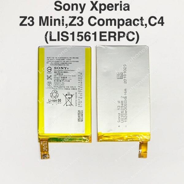 แบตเตอรี่แท้ Sony Xperia Z3 Mini (D5803,D5833) รหัส LIS1561ERPC  ส่งฟรี!!