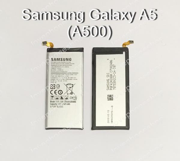 แบตเตอรี่ แท้ Samsung Galaxy A5 - EB-BA500ABE/2300mAh 3.8V 8.74Wh (ส่งฟรี)