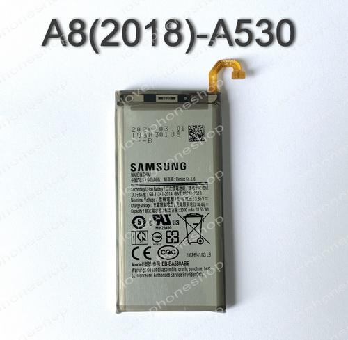 แบตเตอรี่ แท้ Samsung Galaxy A8(A530)(2018) - EB-BA530ABE/3000mAh (ส่งฟรี)